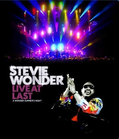 DVD - STEVIE WONDER: LIVE AT LAST