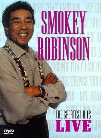 DVD - SMOKEY ROBINSON - THE GREATEST HITS LIVE