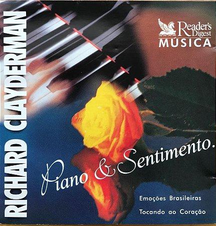 CD - Richard Clayderman - Piano & Sentimento - 1 e 2