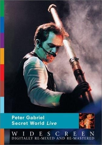 DVD -  PETER GABRIEL - SECRET WORLD