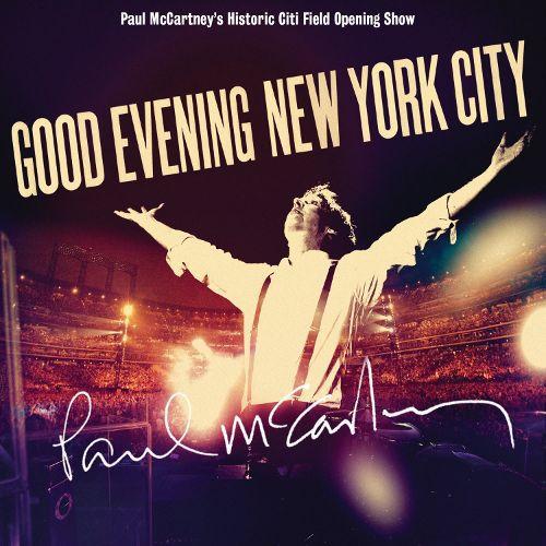 DVD + 2 CDs Paul McCartney – Good Evening New York City  Digipack