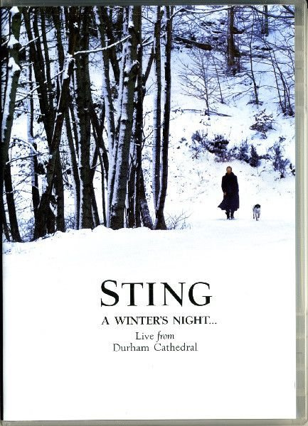 DVD - STING: A WINTER'S NIGHT... LIVE FROM DURHAM CATHEDRAL