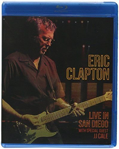 Blu-ray - ERIC CLAPTON - LIVE IN SAN DIEGO (WITH SPECIAL GUEST JJ CALE) - IMP.