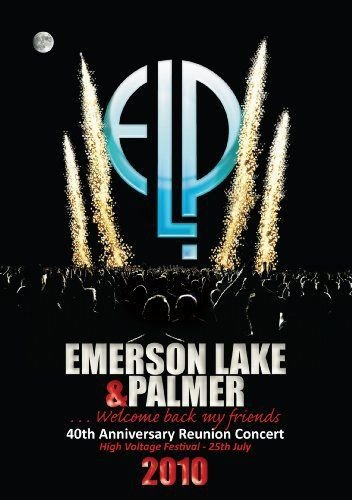 Blu-ray - EMERSON LAKE & PALMER - 40TH ANNIVERSARY REUNION CONCERT