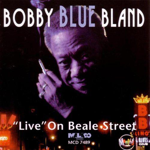 "CD - Bobby Blue Bland* – ""Live"" On Beale Street - IMP"