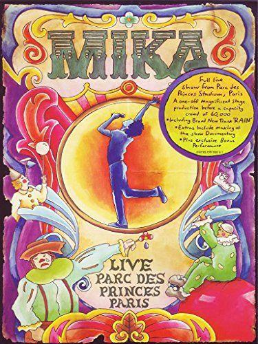 DVD - MIKA LIVE AU PARC DES PRINCES