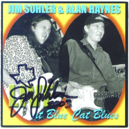 CD - Jim Suhler & Alan Haynes - Live At Blue Cat Blues - IMP