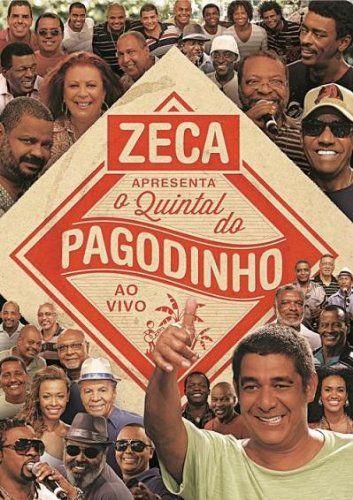 DVD - ZECA APRESENTA O QUINTAL DO PAGODINHO - AO VIVO