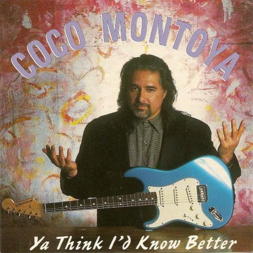 CD - Coco Montoya - Ya Think I'd Know Better - IMP