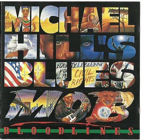 CD - Michael Hill's Blues Mob - Bloodlines - IMP