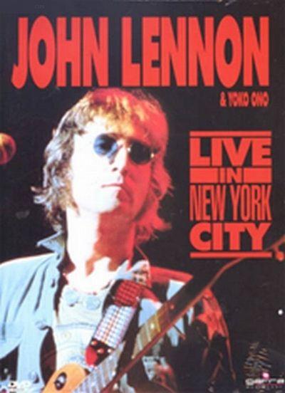 DVD - JOHN LENNON LIVE IN NEW YORK CITY