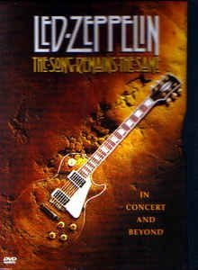 DVD -   Led Zeppelin – The Song Remains The Same - IMP