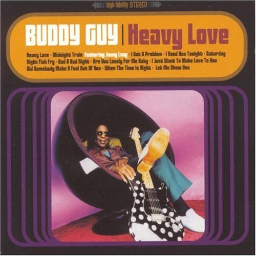 CD - Buddy Guy - Heavy Love - IMP