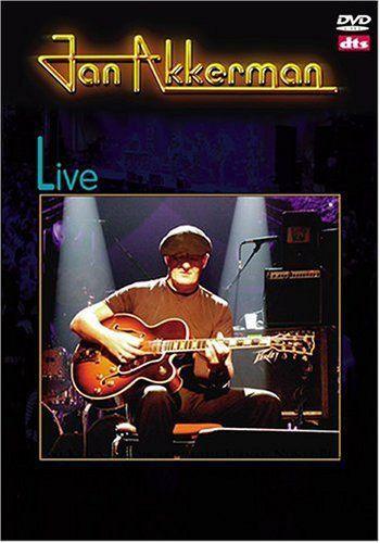 DVD -  JAN AKKERMAN LIVE
