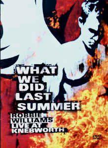 DVD -  ROBBIE WILLIAMS LIVE AT KNEBWORTH