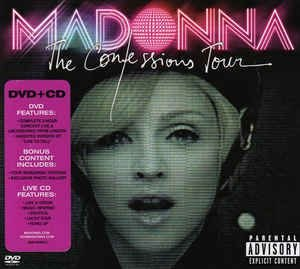 MADONNA: THE CONFESSIONS TOUR LIVE FROM LONDON CD + DVD