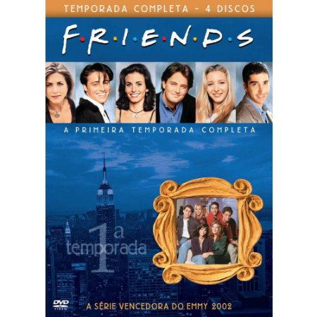 DVD - Friends - Primeira Temporada Completa. (BOX 4 DVDS)