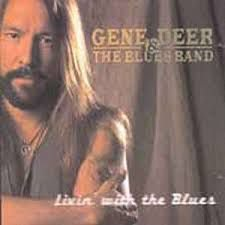 CD - Gene Deer & The Blues Band – Livin' With The Blues - IMP