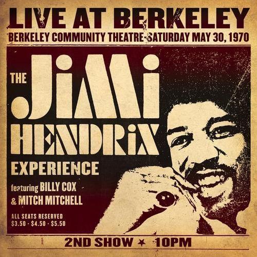 CD - The Jimi Hendrix Experience – Live At Berkeley