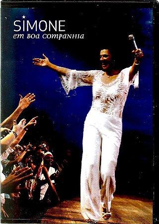 DVD -  SIMONE EM BOA COMPANHIA
