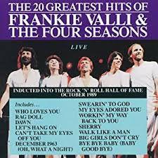 CD - Frankie Valli & The Four Seasons - The 20 Greatest Hits of Frankie Valli & The Four Seasons