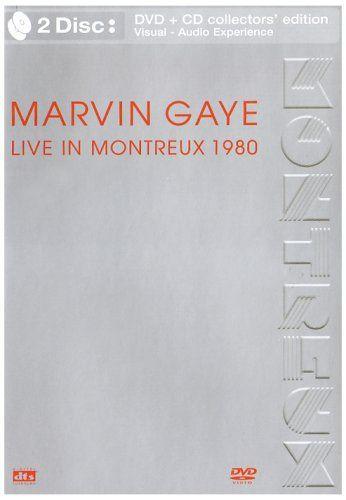 "DVD - MARVIN GAYE LIVE IN MONTREUX 1980"" novo lacrado"
