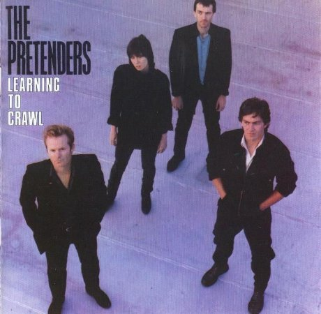 CD - The Pretenders - Learning To Crawl - IMP