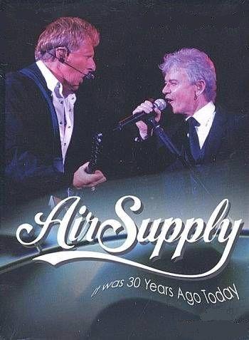 DVD - AIR SUPPLY 30 years ago
