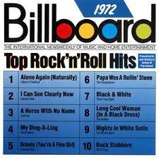 CD - Billboard Top Rock 'N' Roll Hits 1972 - IMP (Vários Artistas)