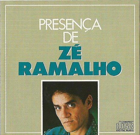 CD - Zé Ramalho -  Presença de Zé Ramalho