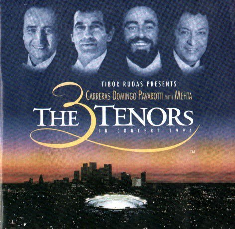 CD -  The 3 Tenors In Concert 1994 - Carreras - Domingo - Pavarotti With Mehta - IMP