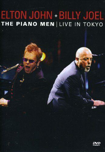 DVD - ELTON JOHN & BILLY JOEL - The Piano Men Live In Tokyo
