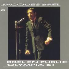 CD - Jacques Brel – Vol.8 - Brel En Public - Olympia 61 - IMP