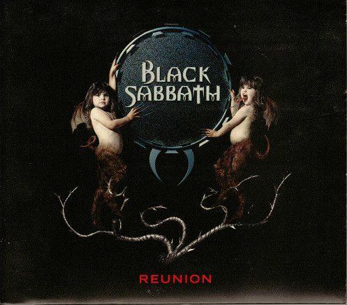 CD - Black Sabbath - Reunion  (Digipack)  - IMP US