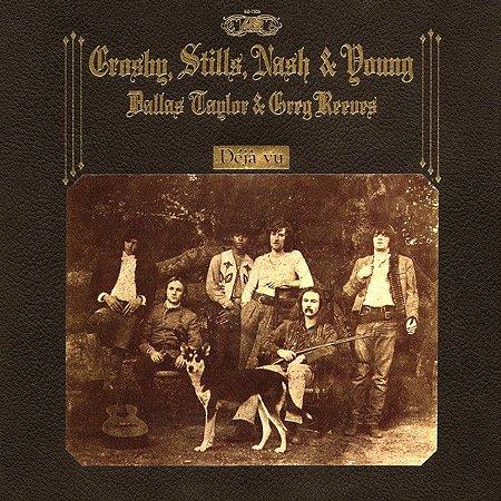 CD - Crosby Stills Nash & Young - DéjàVu - IMP GERMANY