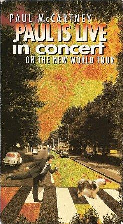 DVD - Paul McCartney - PAUL IS LIVE IN CONCERT