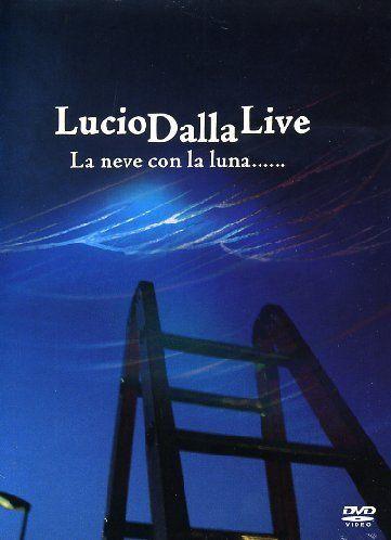 DVD - LUCIO DALLA LIVE LA NEVE CON LUNA (DIGIPACK) - DVD DUPLO