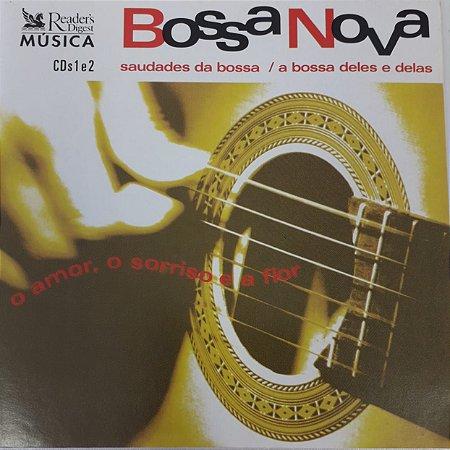 CD - Bossa Nova - O Amor, O Sorriso e a Flor ¹ (Vários Artistas) Duplo