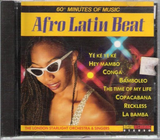 CD - Afro Latin Beat - The London Starlight Orchest & Singers