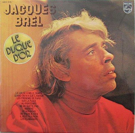 Jacques Brel – Le Disque D'Or De Jacques Brel