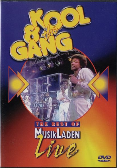 DVD - THE BEST OF MUSIK LADEN LIVE KOOL & THE GANG - LIVE