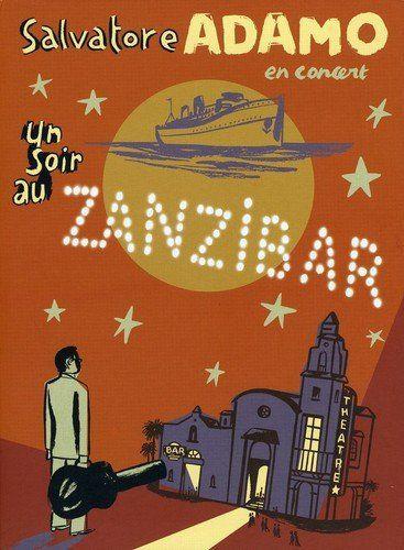 DVD -  SALVATORE ADAMO: UN SOIR AU ZANZIBAR