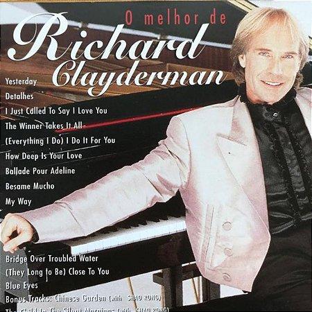 CD - Richard Clayderman - O Melhor de Richard Clayderman