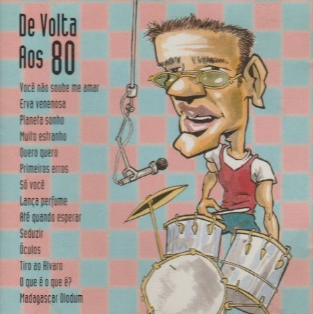 CD - De Volta Aos 80 (Vários Artistas)