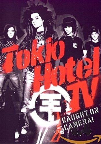 DVD - TOKIO HOTEL TV - CAUGHT ON CAMERA - ( DUPLO )