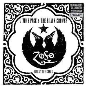 CD - Jimmy Page & The Black Crowes ‎– Live At The Greek ( cd duplo )