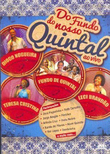 DVD -,DO FUNDO DO NOSSO QUINTAL AO VIVO