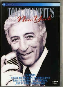 DVD - TONY BENNETT`S NEW YORK