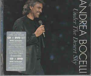 DVD -  Andrea Bocelli – Under The Desert Sky Cd + DVD
