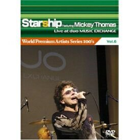 ROCK 'N' ROLL GREATS: STARSHIP FEATURING MICKEY THOMAS Cd + DVD